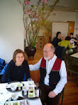 Z Tomem Wrightem - nauczycielem zen  mieszkającym wKioto.