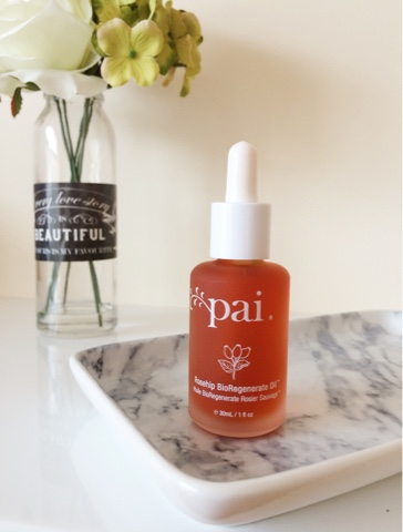 Pai Rosehip Bioregenerate oil review, Pai rosehip oil review, Pai rosehip oil, skincare for oily skin, facial oils, rosehip oil, benefits of rosehip oil