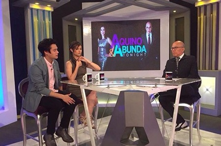 Enrique Gil and Liza Soberano on AAT
