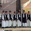 A mátyusföldi Rozmaring éneklőcsoport Mosonmagyaróváron
