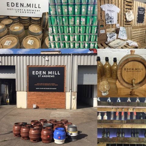 Eden Mill, #LoveFife Chocolate, Seafood and Gin in the East Neuk