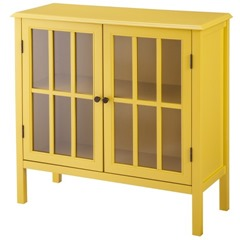 yellow windham cabinet