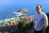 Darin At The Porto Moniz Overlook - Funchal, Madeira