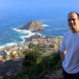 Darin At The Porto Moniz Overlook - Funchal, Madeira
