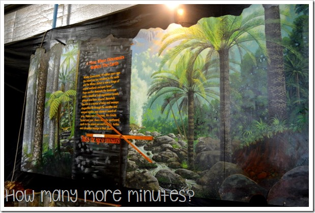 Age of Dinosaurs Museum | How May More Minutes?