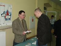 Robert Marczak przedstawia ofertę Weterynaryjnego Banku Krwi