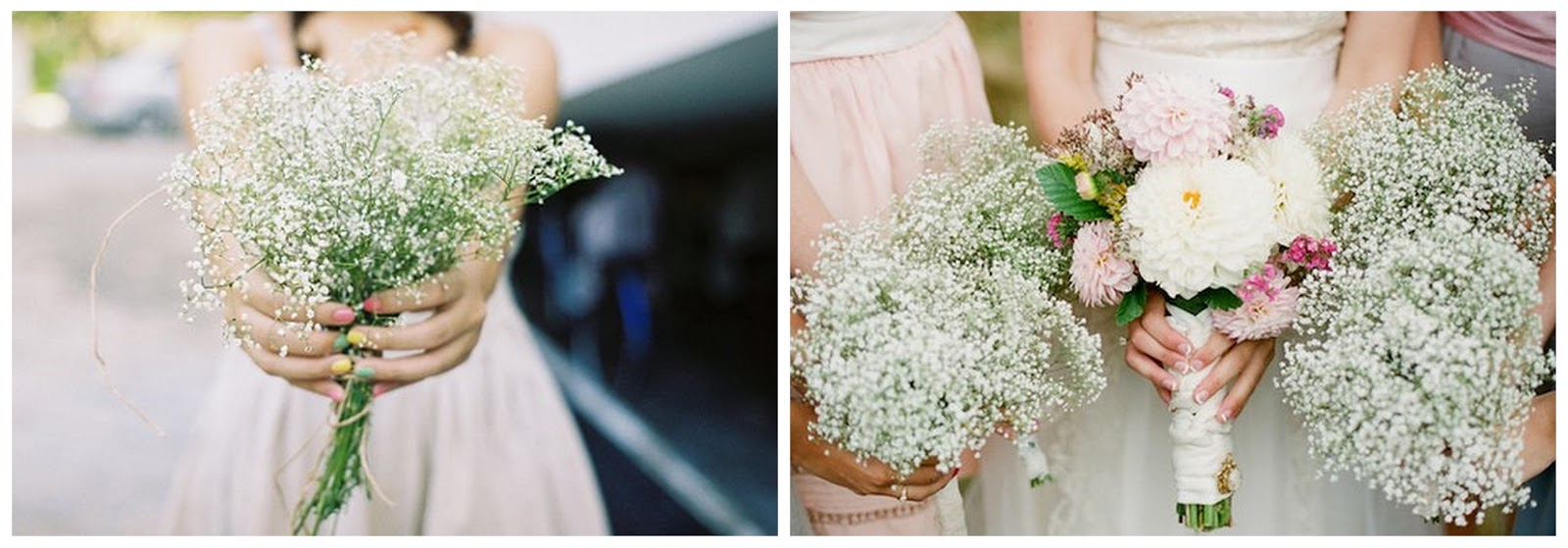 baby s breath wedding