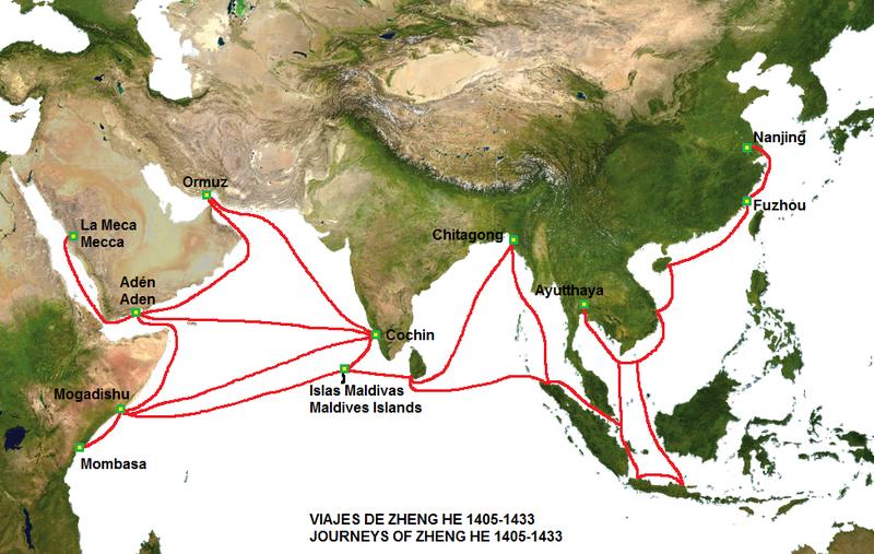 Zheng-He-voyage