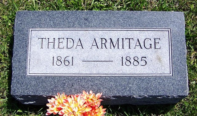 ARMITAGE_Theda_headstone_1861-1885_UnionCem_Odell_Livingston_Illinois_enh