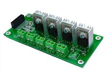 4 Channel AC LED Bulb Dimmer Arduino V1