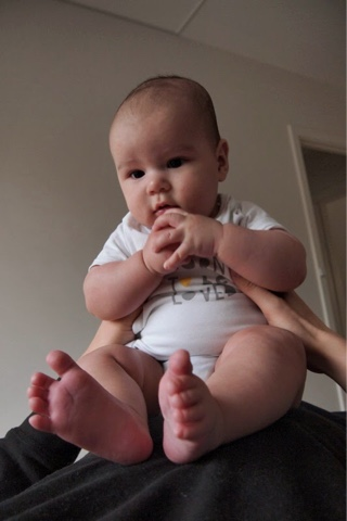 Noah 5 months old
