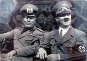 Mussolini e Hitler incontro Villa Gaggia