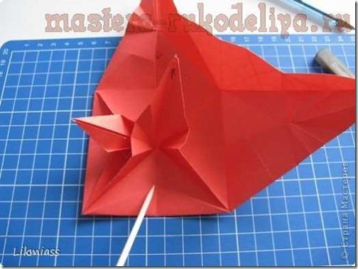 flor de pascua origami (23)