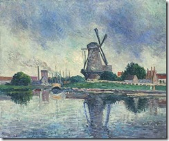 Maximilien-Luce-Mill-in-Hollande