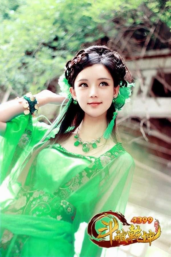 Ngắm vẻ đẹp của các thiếu nữ trong Đấu Phá Càn Khôn