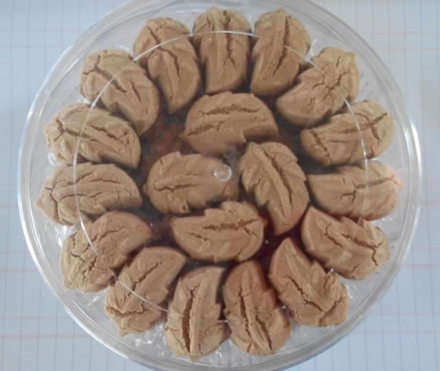 Biskut Bangkit Kacang Hijau