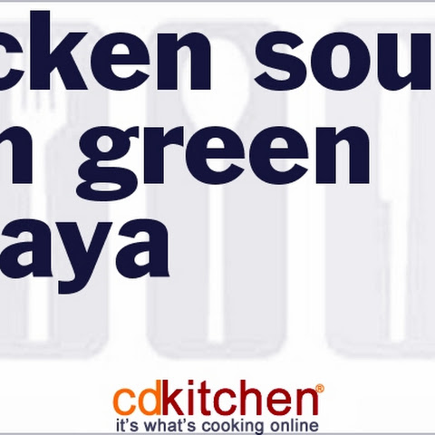 Chicken Soup With Green Papaya