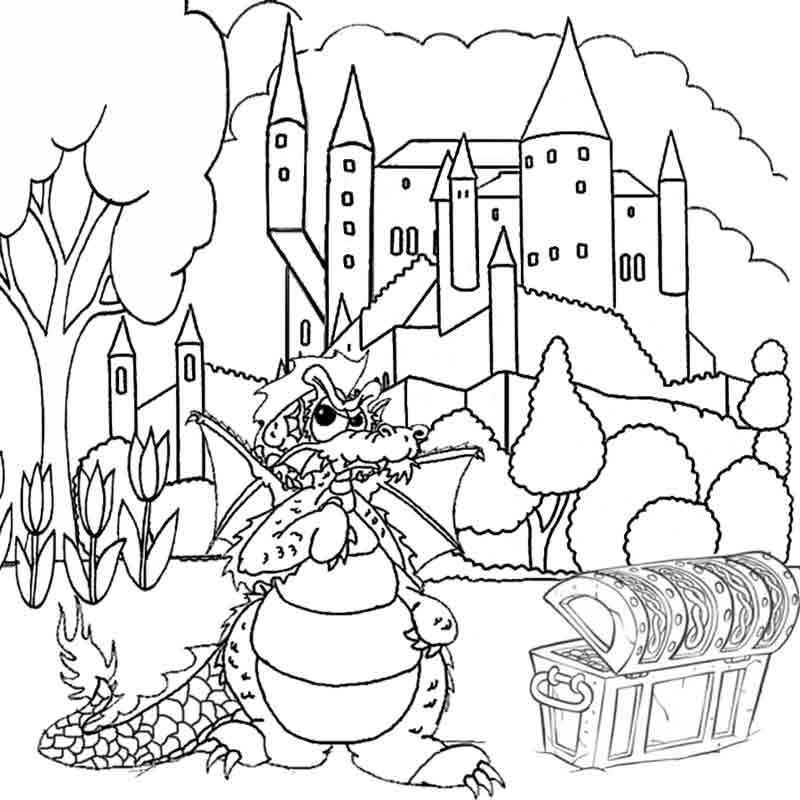Dragons coloring pages printable games free coloring pages - free printable dragon coloring pages