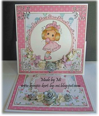 Marie - easel card