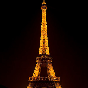 The Eiffel Tower at night.jpg