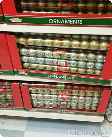 dollar tree ornaments