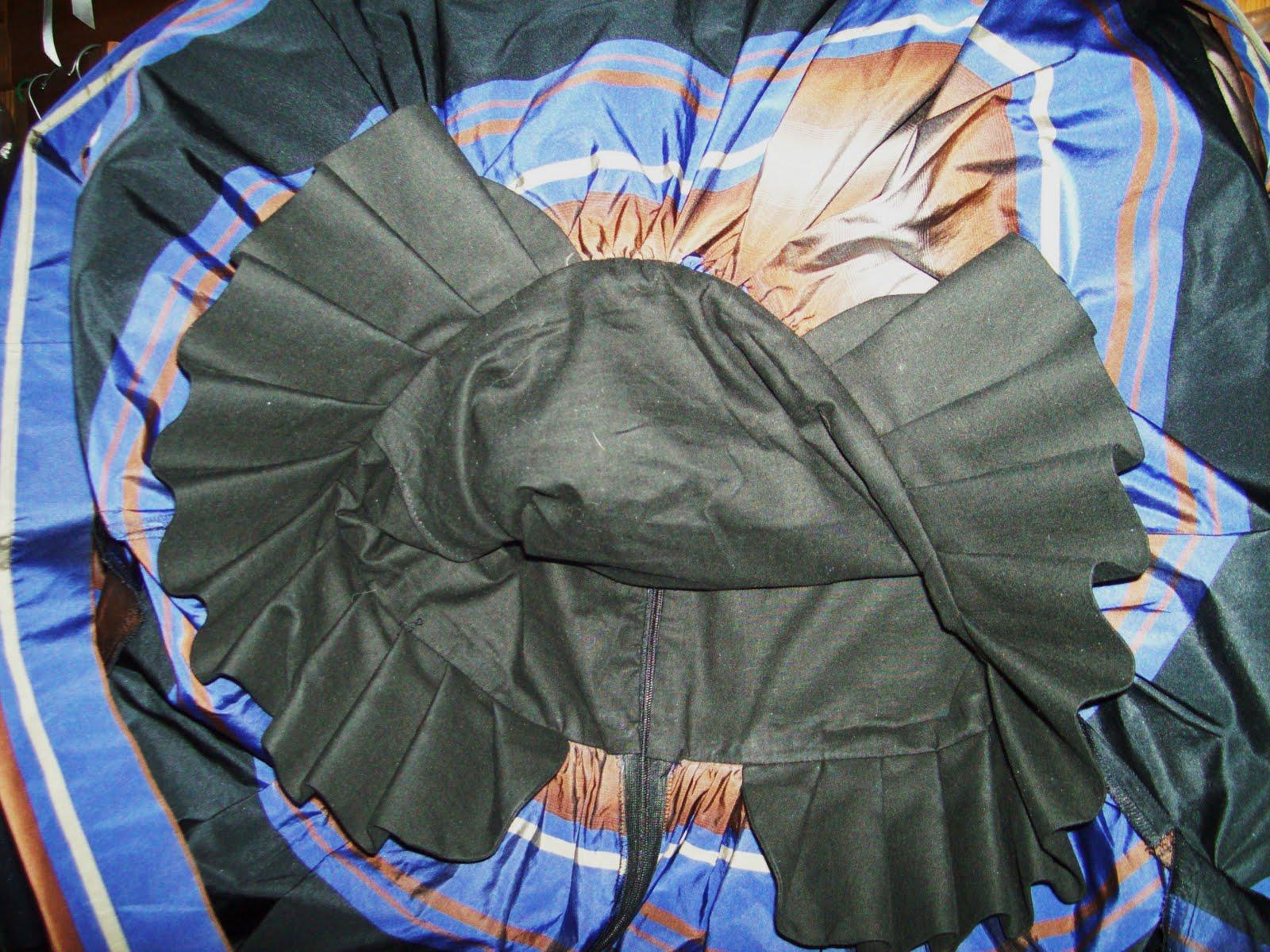 So back to the dress, it is poofy as it is made from a taffeta type material
