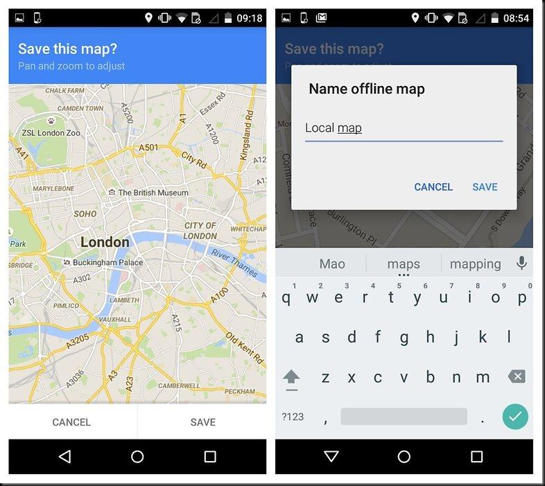 cara melihat peta offline di google maps