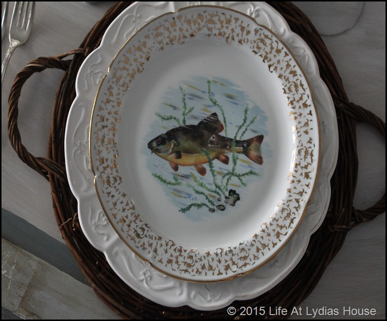 Limoges fish plate 3