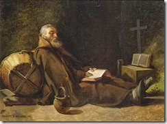 francois-marius-granet-hermit-reading