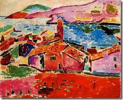 Matisse. vista de Collioure. 1906