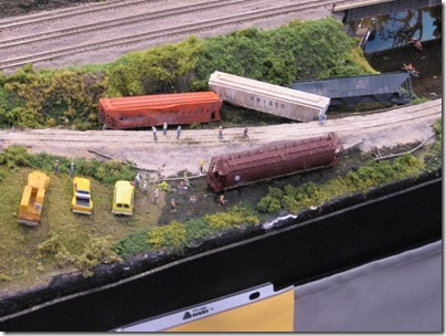 IMG_0860 United Northwest Model Railroad Club NTrak N-Scale Layout at the WGH Show in Puyallup, Washington on November 21, 2009