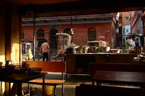 индия улочка кафе