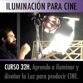 Curso de Verano Iluminación para Cine