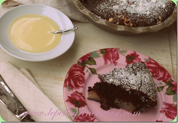 torta di pere e cioccolato 001