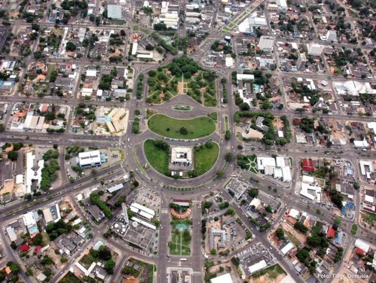 Praça do centro Civico - Boa Vista, Roraima, foto: Manoel Henrique /Skyscrapercity
