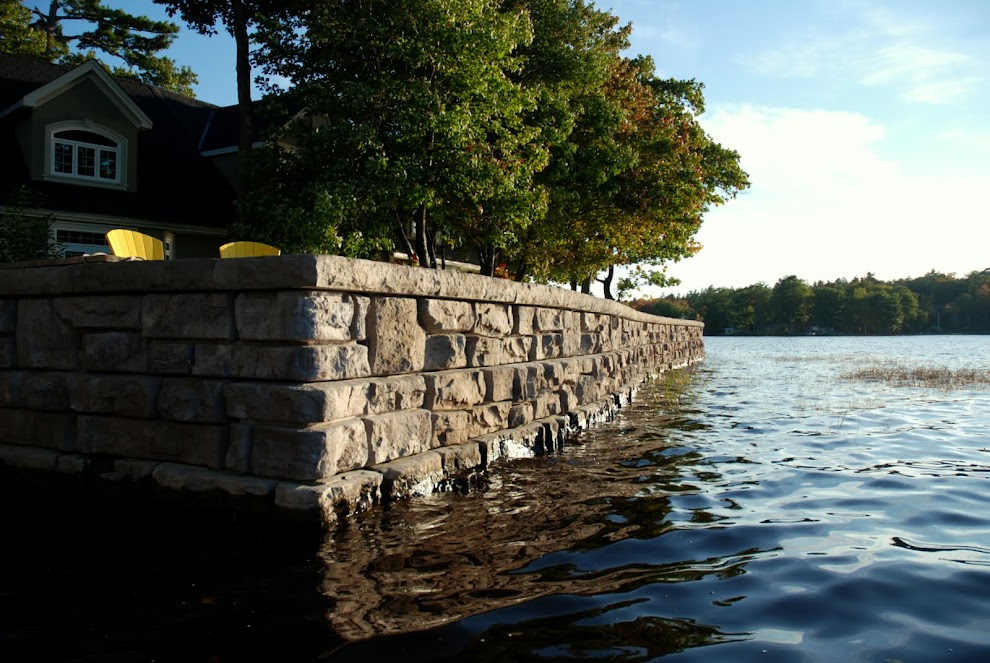 retaining wall supplier halifax