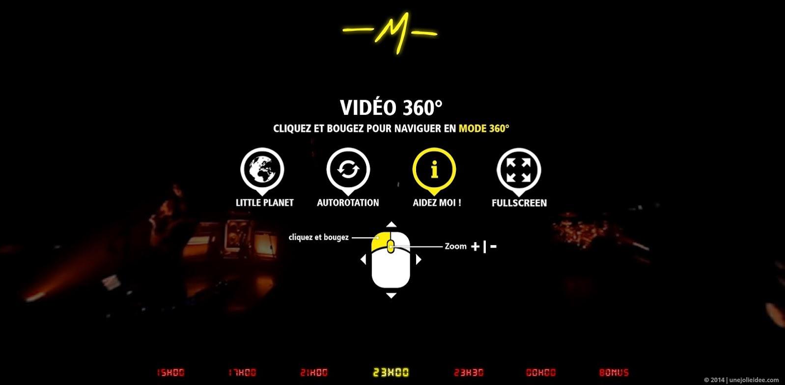 M Machine Live 360° Matthieu Chedid Mathieu