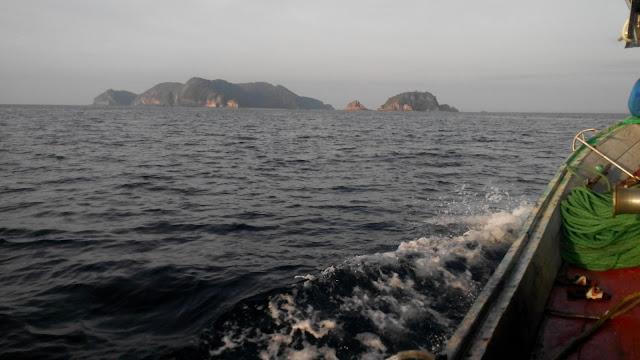 kelihatan Pulau Kapas