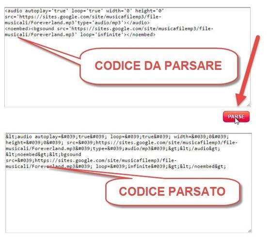 parsare-codice