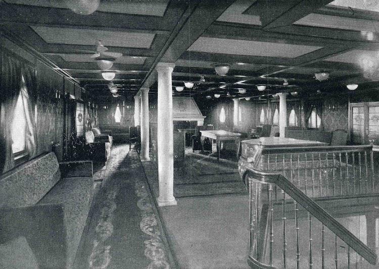 JUAN SEBASTIAN ELCANO. Salón de música de Primera Clase. Libro Obras. S.E. de C.N. 1928.jpg