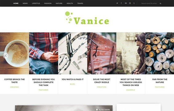vanice-template