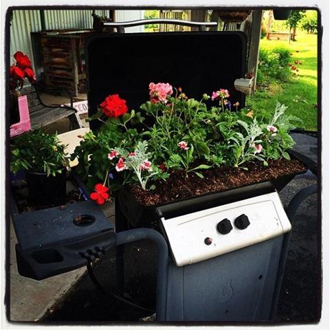 flower grills