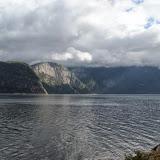 Uitzicht over het fjord.