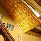 copper ceiling detail