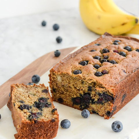 Gluten Free Banana Blueberry Bread