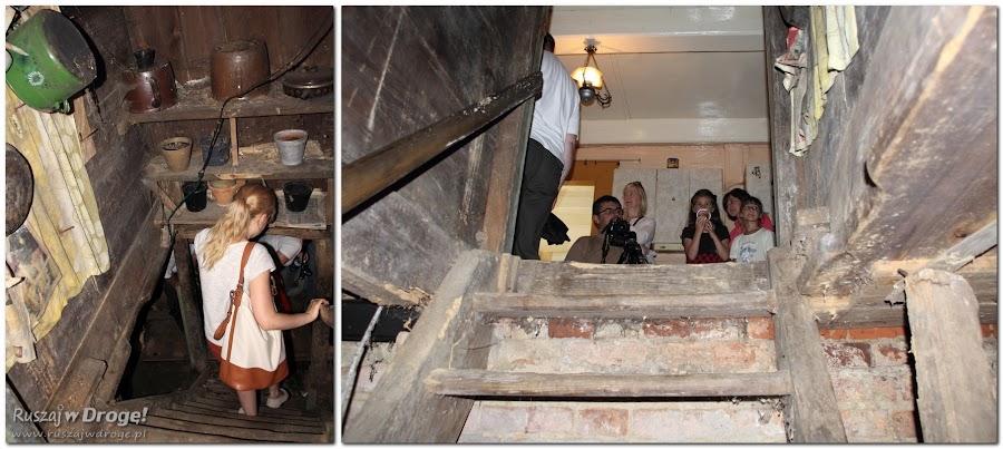Szukamy skarbów w piwnicy w Nowej Kościelnicy