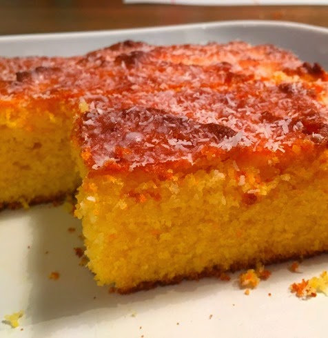 Whole Orange Semolina Cake 1