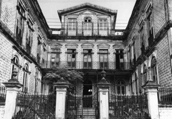 Palacete Pinho - Belém do Parà, fonte: http://arte-arquiteturapa.tumblr.com/