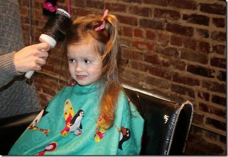 Zoey's First Hair Cut23