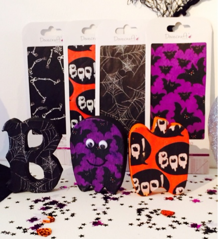 Halloween Craft - halloween paper - Little House Lovely - Hobbycraft
